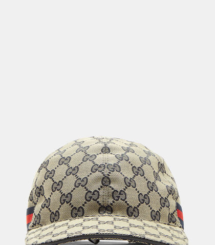 GG Canvas Baseball Cap by Gucci