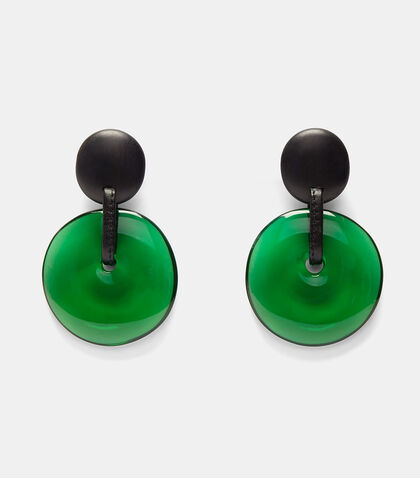 Double Disc Clip-on Earrings by Monies