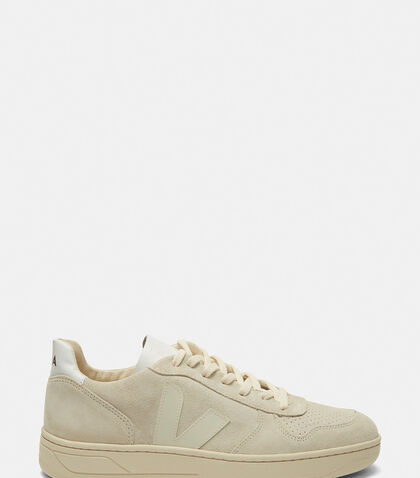 V-10 Mid-Top Suede Sneakers by Veja