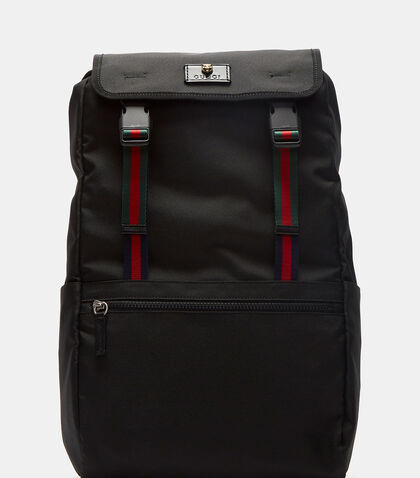 Technical Canvas Backpack by Gucci