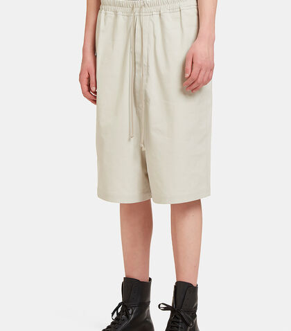 Mega Dropped Crotch Shorts by Rick Owens