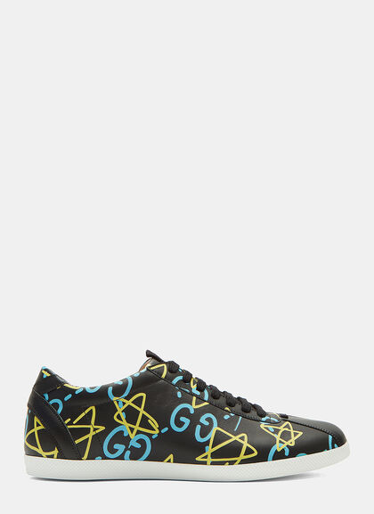 Buy GUCCIGHOST® Low-Top Sneakers by Gucci men clothes online