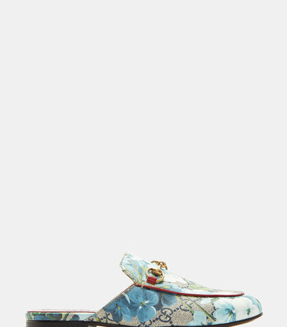 Princetown GG Blooms Slippers by Gucci