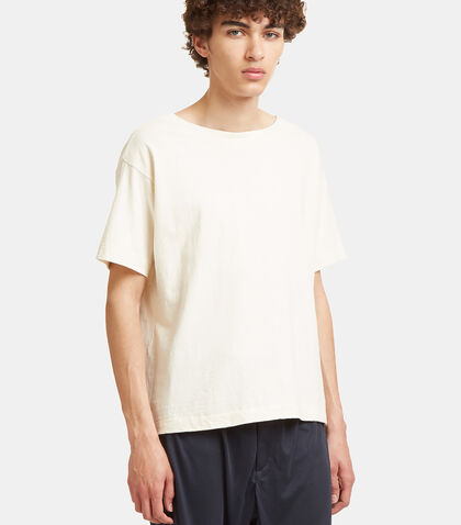 Organic Wide Neck T-Shirt by Snow Peak