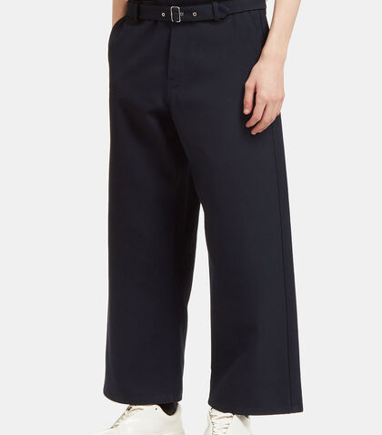 Agden H Cropped Twill Pants by Acne Studios