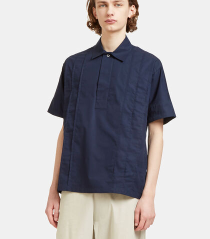 Val Pleated Short Sleeved Shirt by E.Tautz