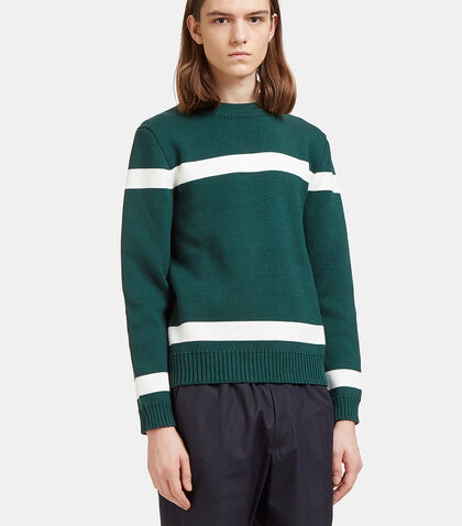 Striped Knit Sweater by Marni