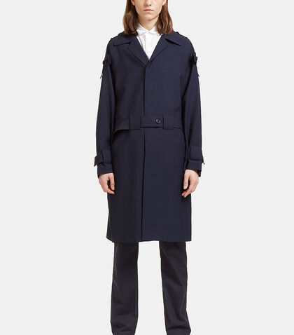 Buttoned Tab Trench Coat by Marni