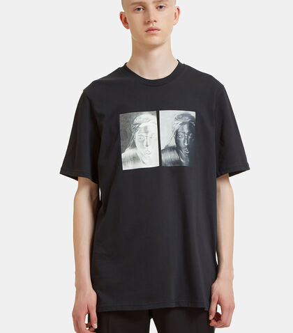 S.O.S Tupac Print T-Shirt by Oamc