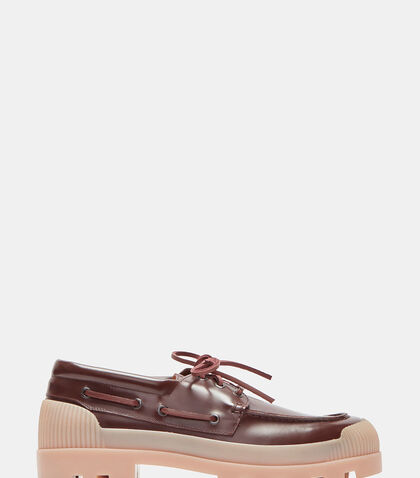 Peter Chunky Rubber Soled Boat Shoes by Acne Studios