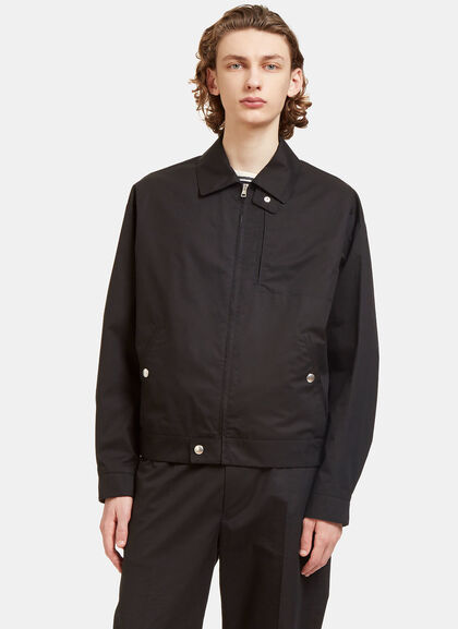 Buy Bird Embroidered Poplin Coach Jacket by Stella McCartney men clothes online