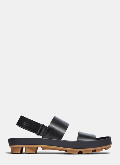 Buy Leather Two Strap Sandals by Gucci men clothes online