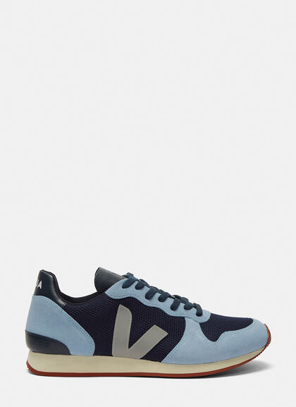 Buy Holiday Low-Top Mesh and Suede Sneakers by Veja men clothes online