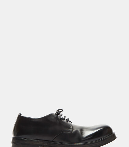 Zucca Zeppa Simple Leather Derby Shoes by Marsèll