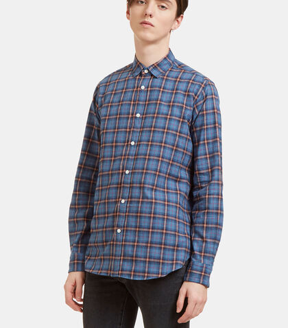 Checked Flannel Shirt by Saint Laurent