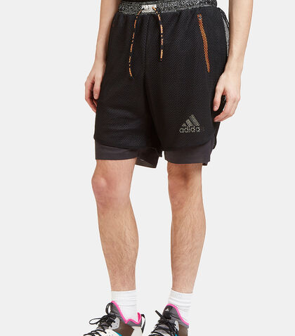 Climachill Layered Mesh Shorts by Adidas By Kolor