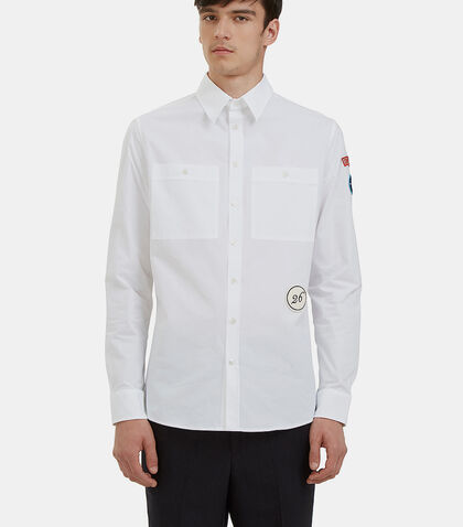 Scouts Badge Shirt by Raf Simons