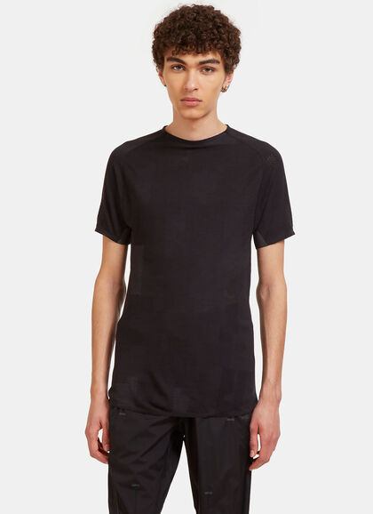 Buy Merino Mesh Short Sleeved T-Shirt by Y-3 Sport men clothes online