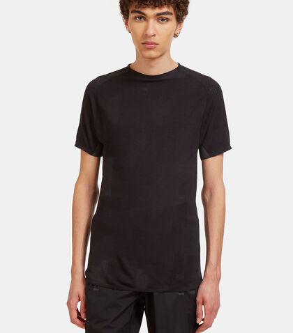Merino Mesh Short Sleeved T-Shirt by Y-3 Sport
