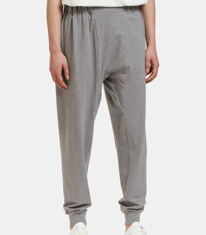 lncc male oversized dropped crotch track pants