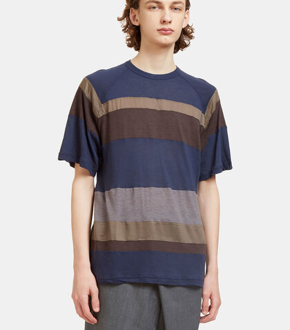 Border Striped T-Shirt by Kolor