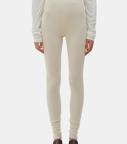 Cashmere Knit Leggings by Lauren Manoogian