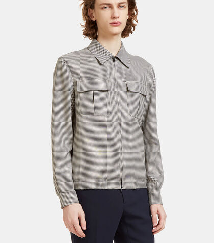 Damier Micro-Checked Jacket by Fendi