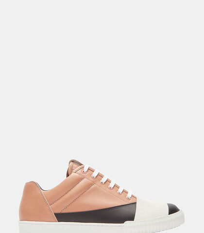 Colour-Blocked Mid-Top Sneakers by Marni