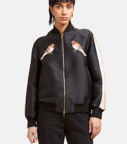 Embroidered Bomber Jacket by Stella McCartney