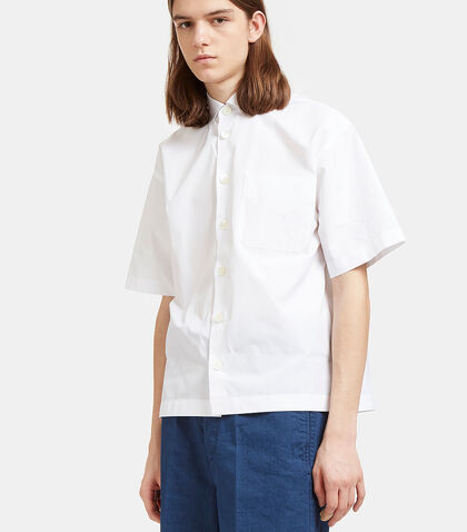 Rear Striped Short Sleeved Shirt by Marni