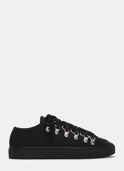 Buy Metal Eyelet Low-Top Sneakers by J.W. Anderson men clothes online