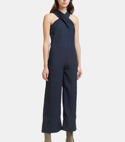 Overlay Crisscross Jumpsuit by Nomia