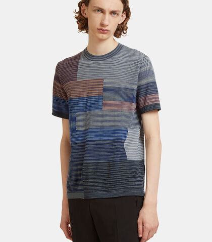Square Striped Knit T-Shirt by Missoni