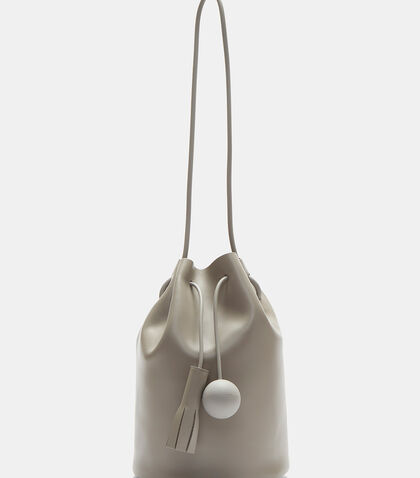 Leather Bucket Bag by Building Block