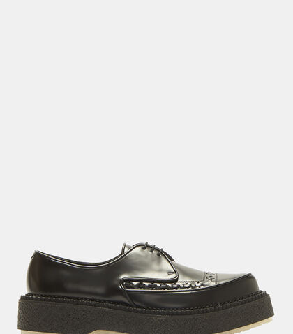 Type 101 Leather Platform Brogue Shoes