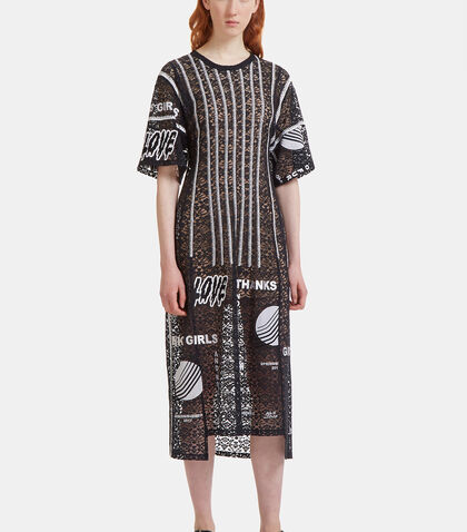 Camellia Embroidered Lace Dress by Stella McCartney