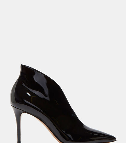 Vania Patent Stiletto Heeled Ankle Boots by Gianvito Rossi