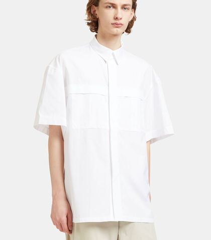 Derek Oversized Short Sleeved Shirt by E.Tautz