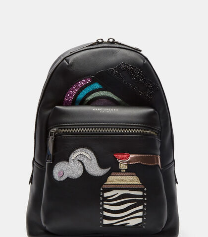 Sequin Patched Backpack by Marc Jacobs