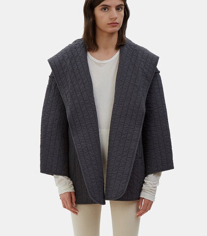 Oversized Kendo Hooded Jacket by Lauren Manoogian