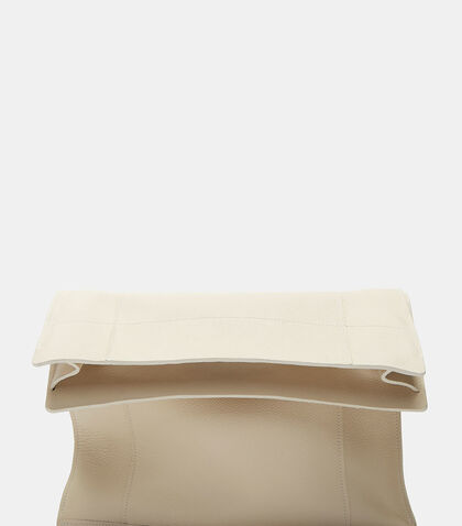 Lunch Leather Clutch Bag by Ribeyron