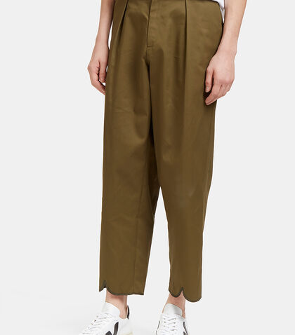 Pleat Back Wide Leg Pants by J.W. Anderson