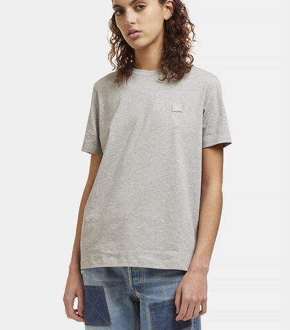 Taline Face Crew Neck T-Shirt by Acne Studios
