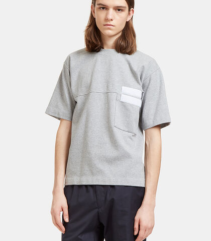 Double-Faced Touch Fastened T-Shirt by Marni