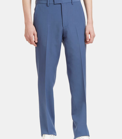 Straight Leg Wool Pants by Gucci