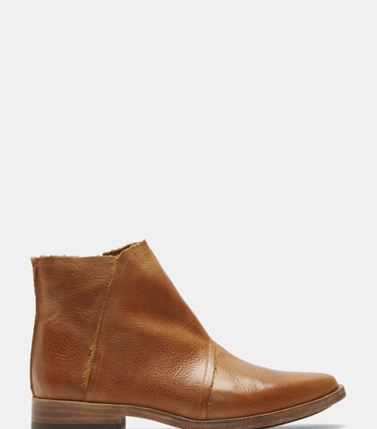 Leather Ankle Boots by Petrucha Studio