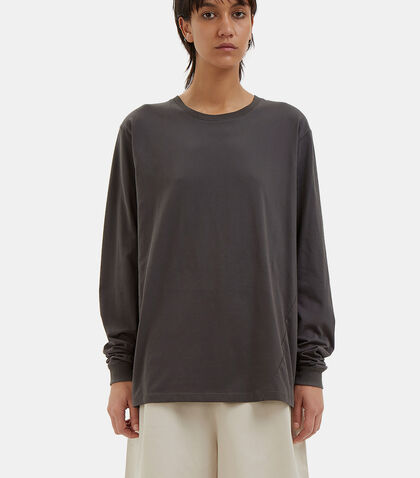 Building Block Long Sleeved Boyfriend Top by Kowtow