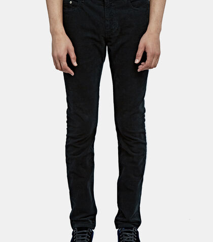 Corduroy Slim Leg Pants by Saint Laurent