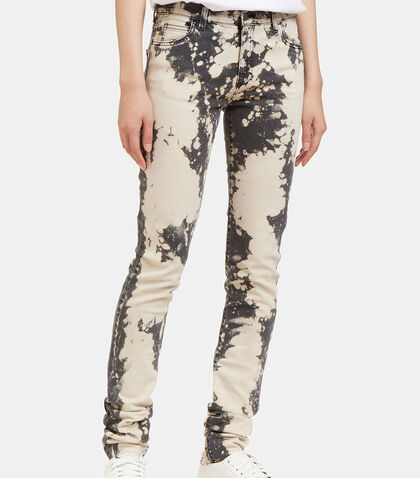 Chlorine Washed Skinny Leg Jeans by Gucci
