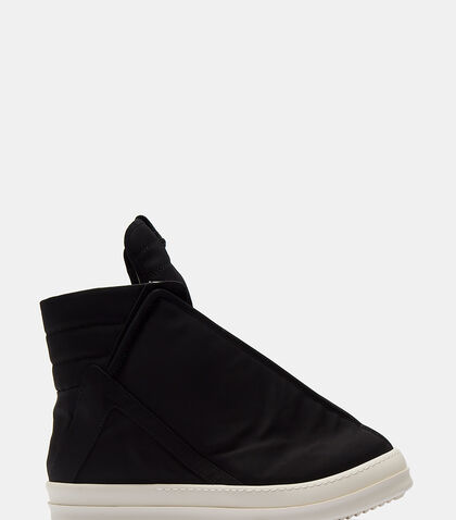High-Top Shielded Sneakers by Rick Owens Drkshdw